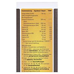 PROSAN Ginkgo+Omega-3 Kapseln 30 Stück - Rückseite