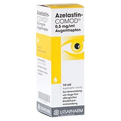 AZELASTIN-COMOD 0,5 mg/ml Augentropfen 10 Milliliter