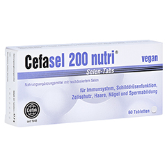 CEFASEL 200 nutri Selen-Tabs 60 Stück