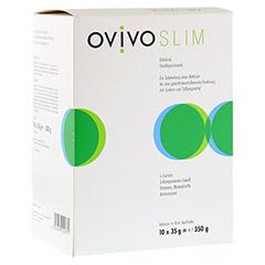 OVIVO SLIM Diätdrink Vanille Pulver 10x35 Gramm