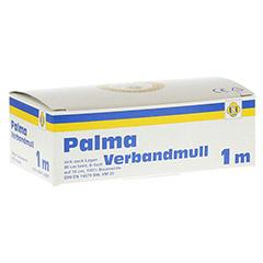 PALMA Verbandmull 80 cm 1 m zickzack Lagen 1 Stück