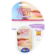 HERPES PATCH bei Lippenherpes 15 mm 15 Stück