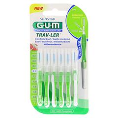 GUM TRAV-LER 1,1mm Tanne grün Interdental+6Kappen 6 Stück