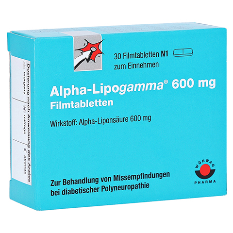 Alpha-Lipogamma 600mg 30 Stück N1