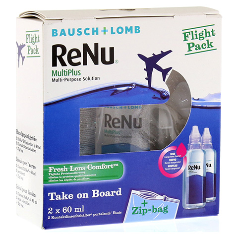 RENU MultiPlus Flight Pack Flaschen 2x60 Milliliter