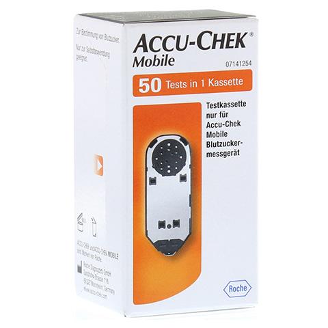 ACCU CHEK Mobile Testkassette 50 Stück
