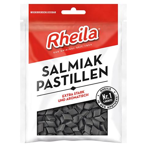 Rheila Salmiak Pastillen mit Zucker 90 Gramm