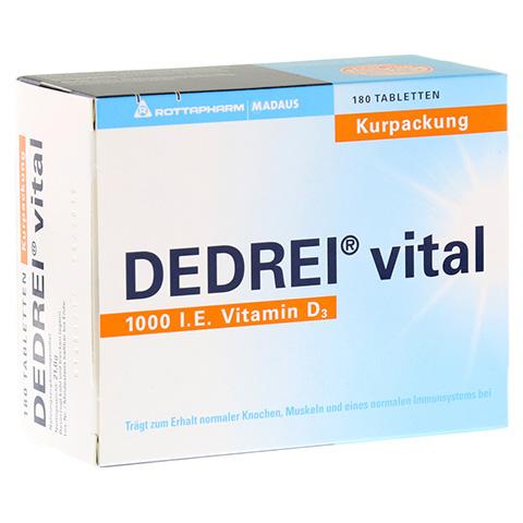 DEDREI vital Tabletten Kurpackung 180 Stück