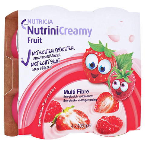 NUTRINI Creamy Fruit Beerenfrüchte 4x100 Gramm