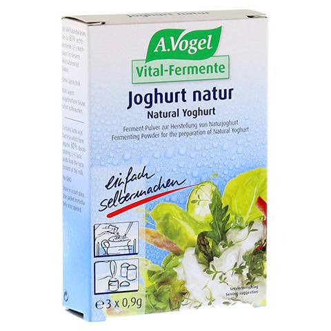 VITAL FERMENT Joghurt natur Beutel 3x0.9 Gramm