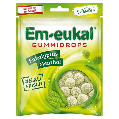 EM EUKAL Gummidrops Eukalyptus-Menthol zuckerhalt. 90 Gramm