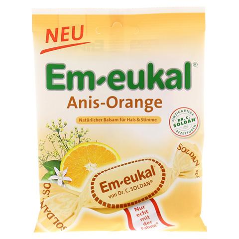 EM EUKAL Bonbons Anis Orange zuckerhaltig 75 Gramm