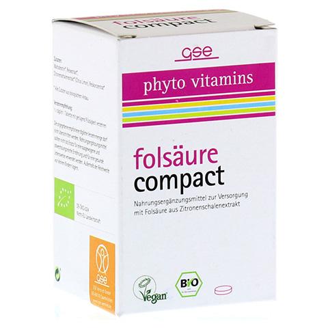 FOLSÄURE COMPACT Bio Tabletten 120 Stück