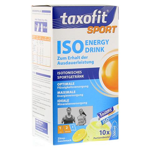 TAXOFIT Sport Iso Energy Drink Zitrus Portionsbtl. 10 Stück