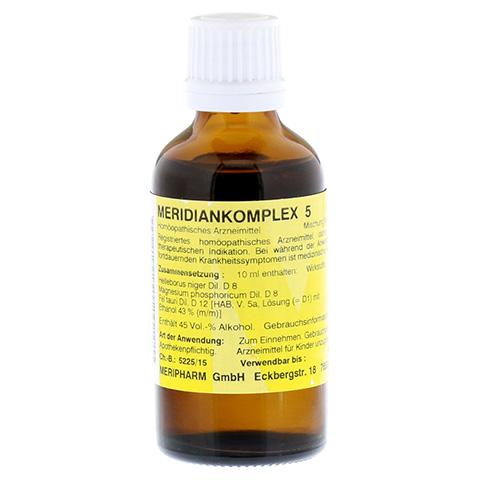 MERIDIANKOMPLEX 5 Tropfen zum Einnehmen 50 Milliliter N1