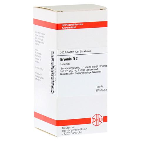 BRYONIA D 2 Tabletten 200 Stück N2