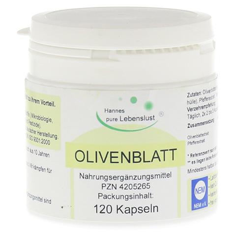 OLIVENBLATT Extrakt Vegi Kapseln 120 Stück