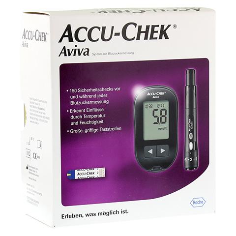ACCU CHEK Aviva III Set mmol/l 1 Stück
