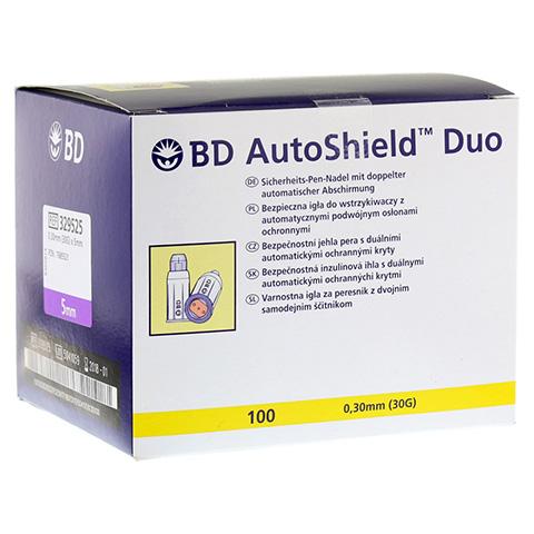 BD AUTOSHIELD Duo Sicherheits-Pen-Nadeln 5 mm 100 Stück