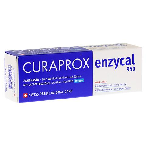 CURAPROX enzycal 950 Fluorid extra milde Zahnpasta 75 Milliliter