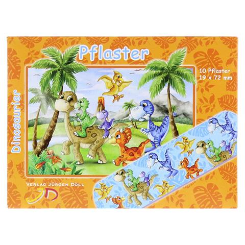 KINDERPFLASTER Dinosaurier Briefchen 10 Stück