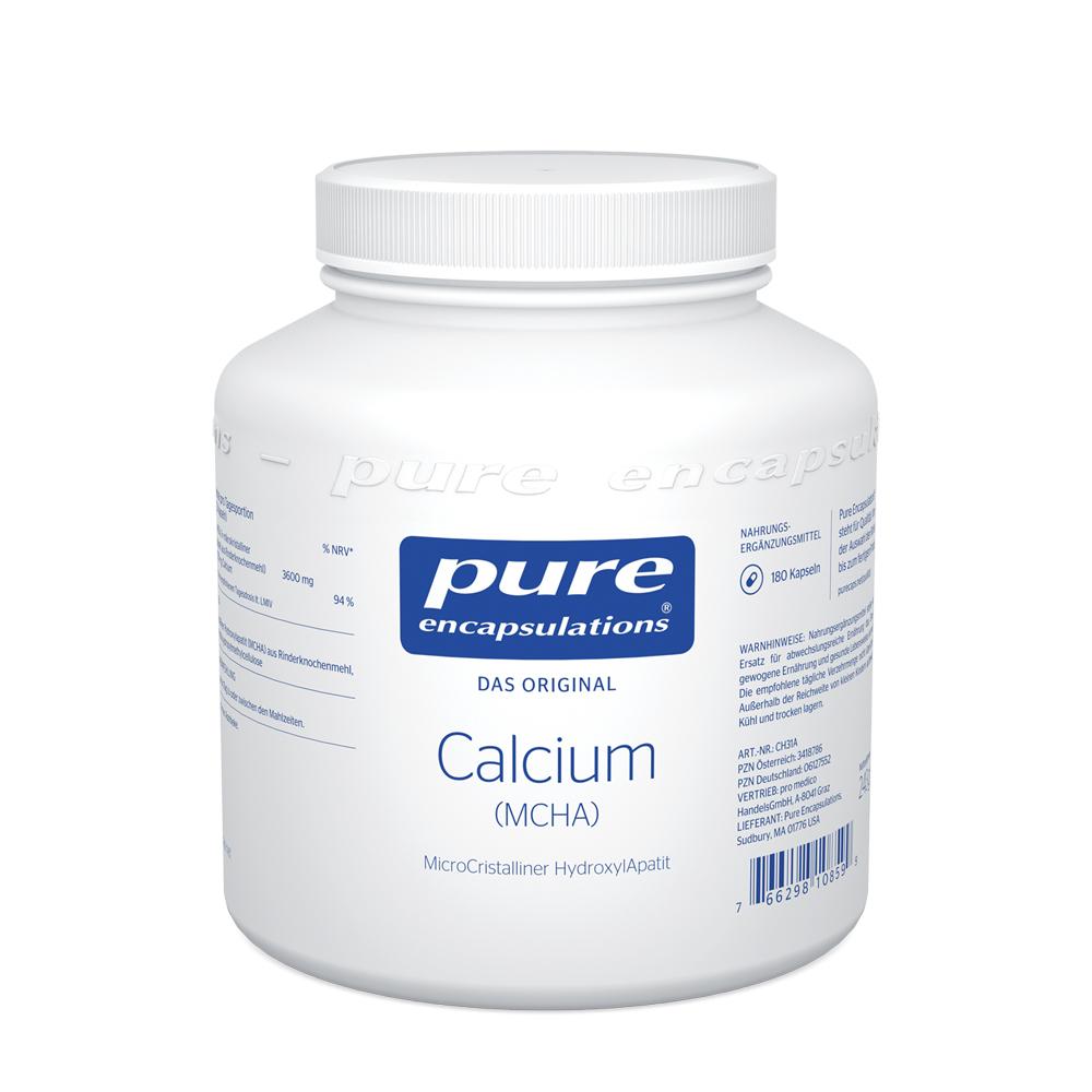 pure encapsulations calcium mcha kapseln 180 st ck online. Black Bedroom Furniture Sets. Home Design Ideas
