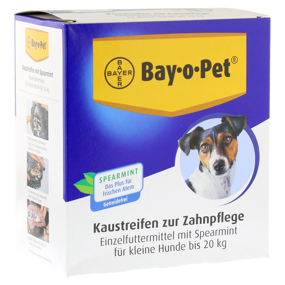 bay-o-pet-zahnpfl-kaustreif-spearmint-f-kl-hunde-140-gramm