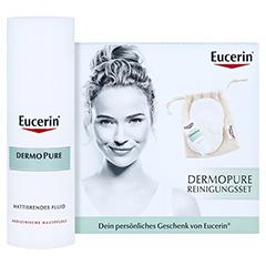 Eucerin DermoPure mattierendes Fluid + gratis Eucerin DermoPure Reinigungsset 50 Milliliter