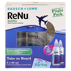 RENU MultiPlus Flight Pack Flaschen 2x60 Milliliter - Vorderseite