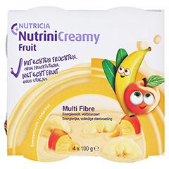 NUTRINI Creamy Fruit Sommerfrüchte 4x100 Gramm - Vorderseite
