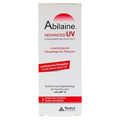 ABILAINE ADVANCED UV Creme LSF 15 30 Milliliter - Vorderseite