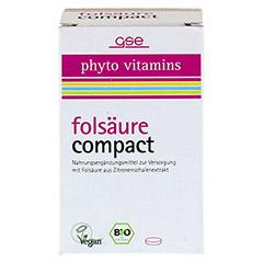 FOLSÄURE COMPACT Bio Tabletten 120 Stück - Vorderseite