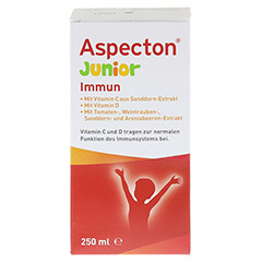 ASPECTON Junior Immun Suspension 250 Milliliter - Vorderseite