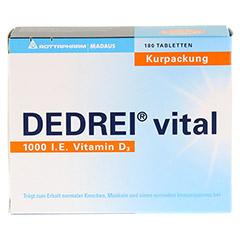 DEDREI vital Tabletten Kurpackung 180 Stück - Vorderseite