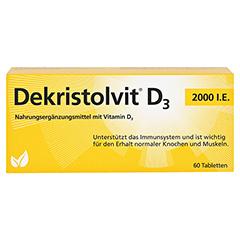 DEKRISTOLVIT D3 2.000 I.E. Tabletten 60 Stück - Vorderseite