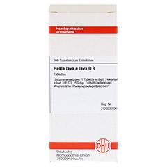 HEKLA lava e lava D 3 Tabletten 200 Stück N2 - Vorderseite
