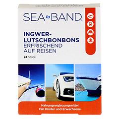 SEA-BAND Ingwer-Lutschbonbons 24 Stück - Vorderseite