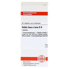 HEKLA lava e lava D 8 Tabletten 80 Stück N1 - Vorderseite