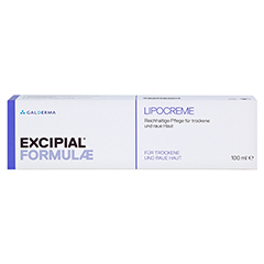 EXCIPIAL Lipocreme 100 Milliliter - Vorderseite