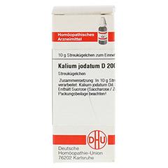 KALIUM JODATUM D 200 Globuli 10 Gramm N1 - Vorderseite