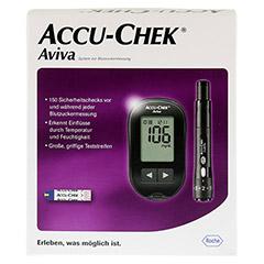 ACCU-CHEK Aviva III Set mg/dl 1 Stück - Vorderseite