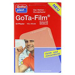GOTA FILM steril 15x10cm Pflaster 50 Stück - Vorderseite