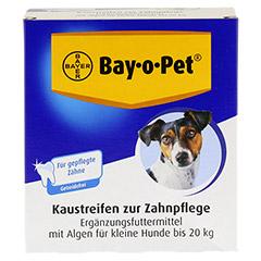 BAY O PET Zahnpfl.Kaustreif.f.kl.Hunde 140 Gramm - Vorderseite