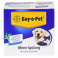 BAY O PET Ohrreiniger f.kleine Hunde/Katzen 2x25 Milliliter - Vorderseite