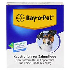 BAY O PET Zahnpfl.Kaustreif.Spearmint f.kl.Hunde 140 Gramm - Vorderseite