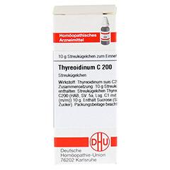 THYREOIDINUM C 200 Globuli 10 Gramm N1 - Vorderseite