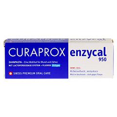 CURAPROX enzycal 950 Fluorid extra milde Zahnpasta 75 Milliliter - Vorderseite