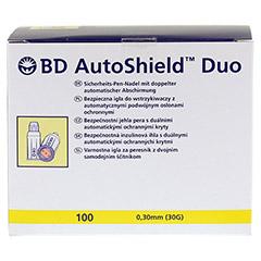 BD AUTOSHIELD Duo Sicherheits-Pen-Nadeln 5 mm 100 Stück - Vorderseite