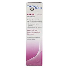 THYMUSKIN FORTE Shampoo 200 Milliliter - Linke Seite