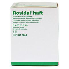 ROSIDAL haft Kompressionsbinde 8 cmx5 m 1 Stück - Linke Seite